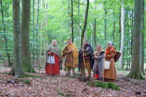 Wanderung um den Stretzerberg 2012